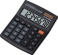SDC-805BN Citizen Calculator, SDC805 Desktop Calculator, new and original