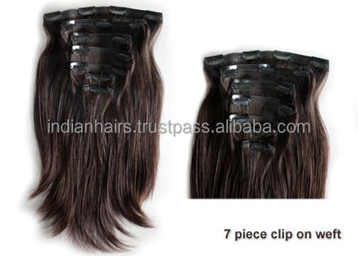 Cheap Hair Extensions Clip in Full Head