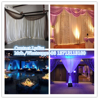 wholesale pipe and drape kit for photo booth pipe and drapes for wedding decoration