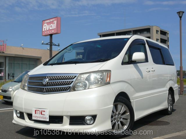 Good looking and Popular toyota alphard machine toyota alphard 2003 used car with Good Condition made in Japan