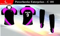 Sublimation Cricket team Uniforms