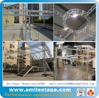 Aluminum truss structure crane dj truss system