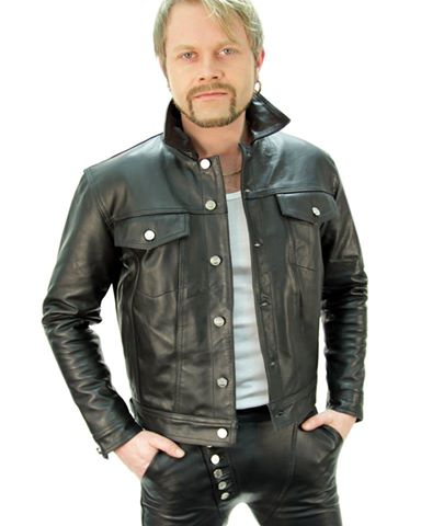 Classic New Style Pakistan Sialkot Wholesale Cheap Price Custom Made Vintage Fashionable Men Leather Jacket/Leather Jackets
