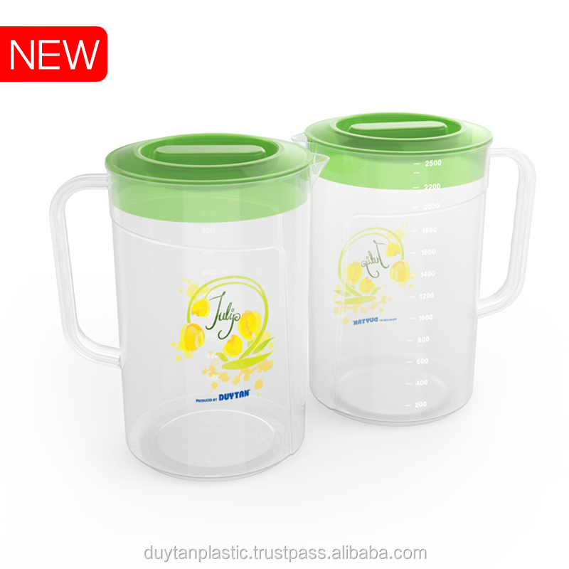 HOT SALE/ HIGH QUALITY - PLASTIC WATER PITCHER/ PLASTIC JUG 2.5L - DUY TAN PLASTICS