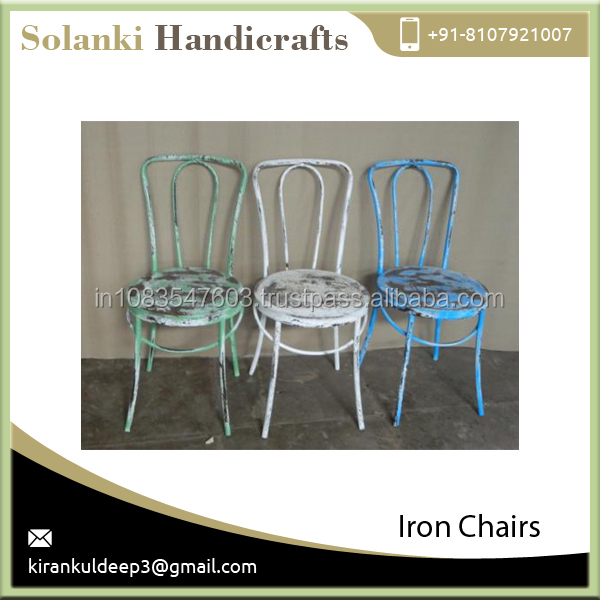 Low Weight Best Quality Metal Iron Chair from Top Dealers at Reasonable Cost