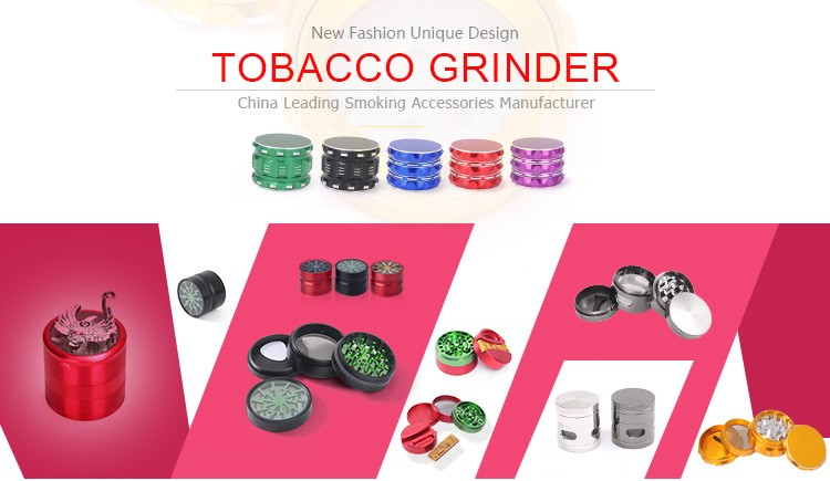 JL-005JA Yiwu Jiju Best Crusher Smoking Accessories Industrial Scrap Metal Grinder