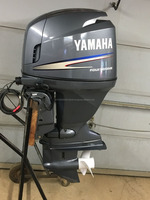 Used 115 hp YAMAHA Outboard boat motor 4-STROKE - FUEL INJECTED - power tilt 115hp