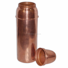 Pure Copper YOGA Water Bottle storage copper water container