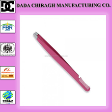 2014 wholesale new DCM PAKISTAN EYEBROW tweezer with comb
