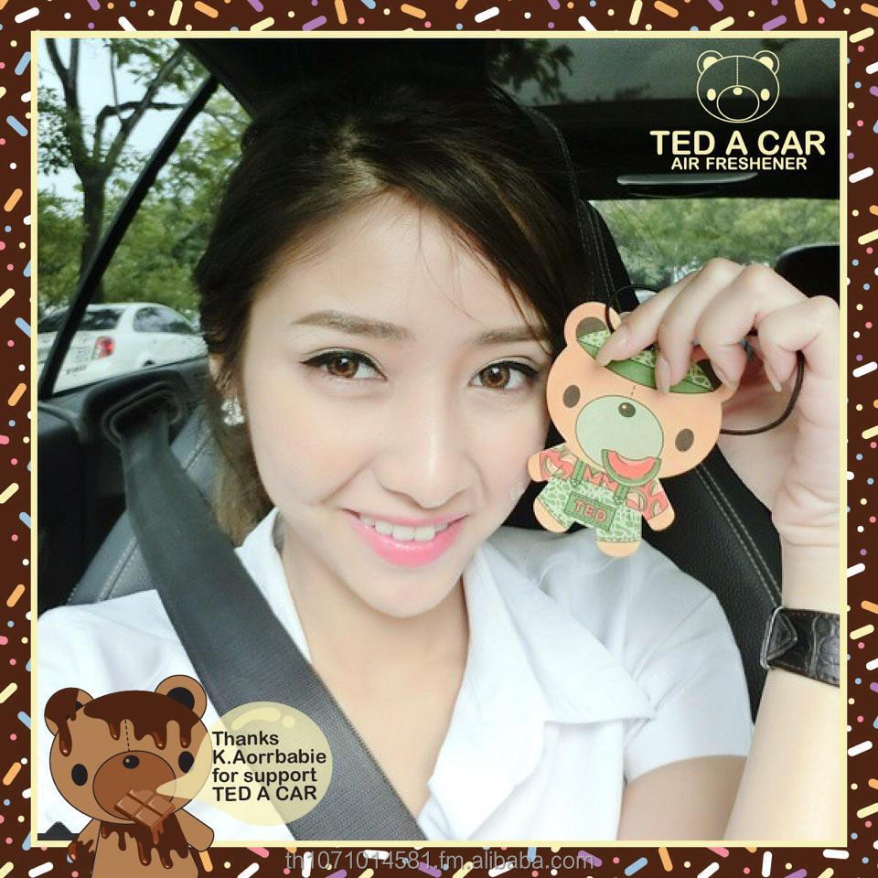TED A CAR air freshener for car,handbag,bag,bathroom,bedroom