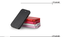 New arrival best seller folding PU leather filp cover for Iphone 5G/5S case with Holder