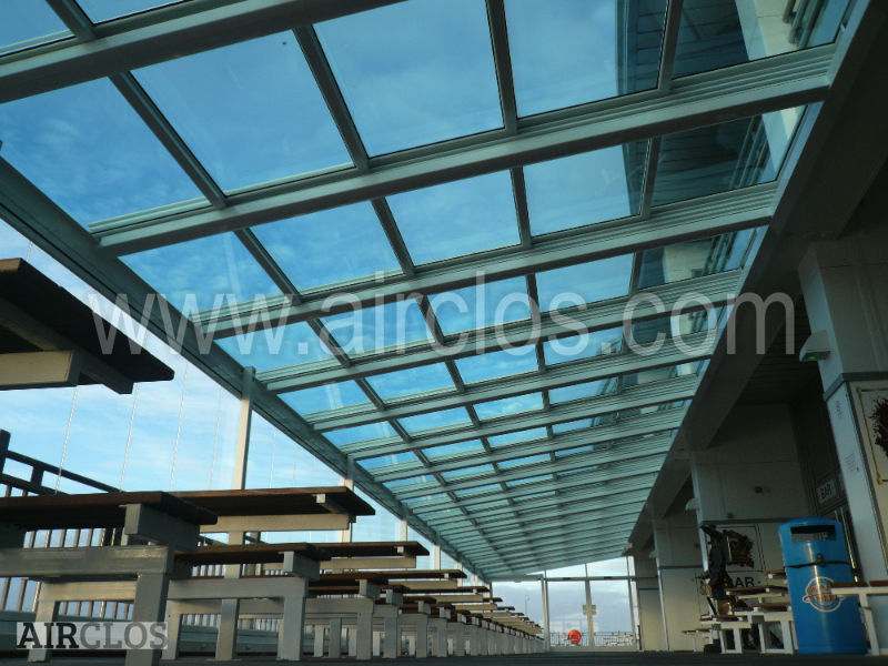Retractable Glass Roof