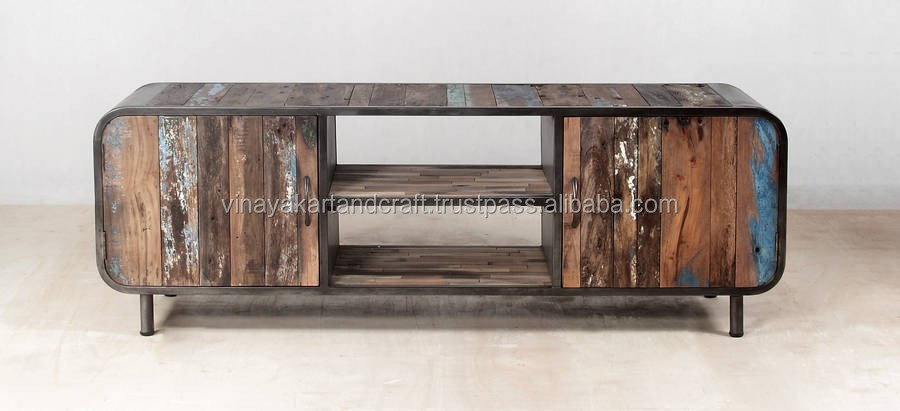 Industrial Style Wooden Tv Tv Stand Buy Cheap Tv Style Tv Standunique Tv  Stands Product On
