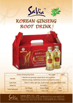 Korean Ginseng Root Drink