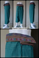 Fisherman Pants in Thai style 100% Cotton Wholesale Unisex