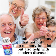 Powerful antioxidant brain booster supplement for elderly