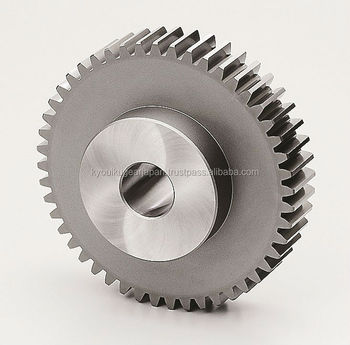 High precision ground spur gear Module 3.0 Chromium molybdenum steel Made in Japan KG STOCK GEARS