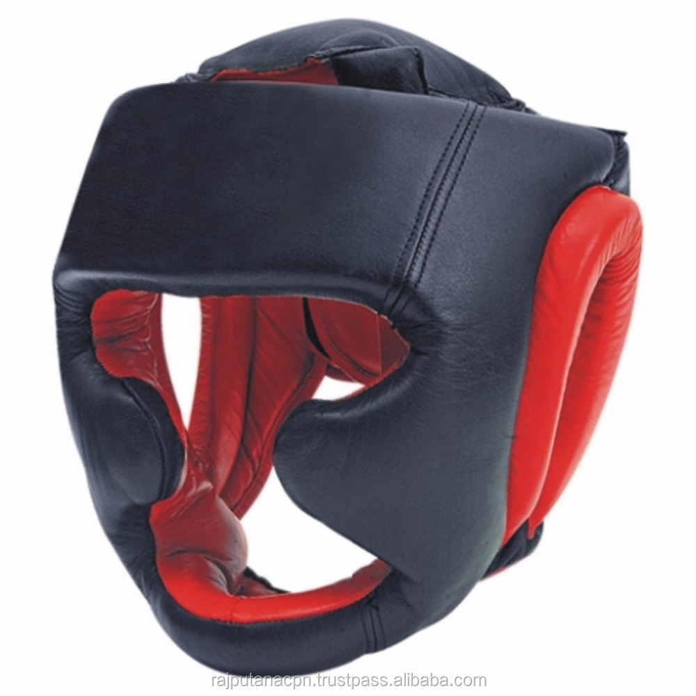 Leather head guard/ Taekwondo head gear/ Martial arts protection