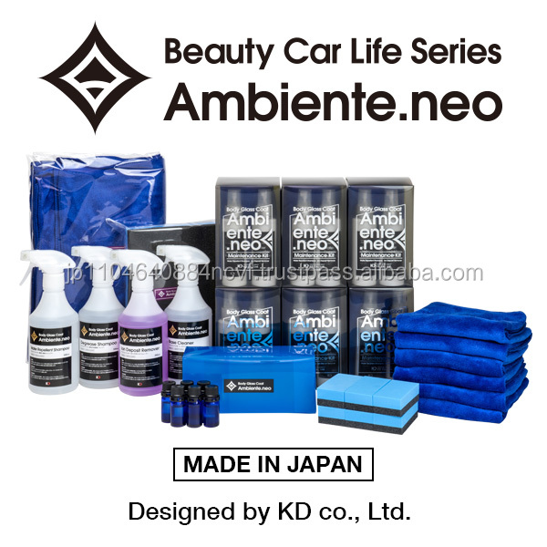 Ambiente.neo silica-based car cleaner shampoo for super shine gloss