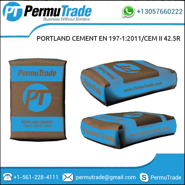 White Portland Cement 52.5N / EN 197-1:2011 for Sale
