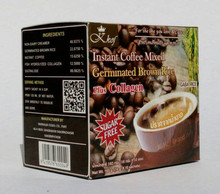 Natural Product Thai Tastes Instant Coffee Mixed Gaba Rice Sugar Free Plus Collagen