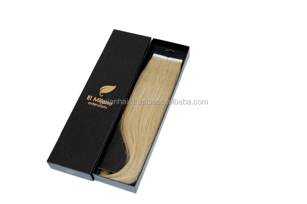 Best 100% Natural Human Hair Tape in Extensions with Premium Quality Strong Texture and Absolutely New Packages