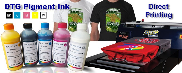 cotton t shirt direct to garment dtg printing ink for epson 1390 l800 l1300