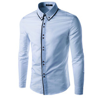 Men Dress Casual Shirt