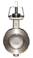 Wafer Type, 316 SS (A351-CF8M) Body, Double Offset High Performance Butterfly Valves