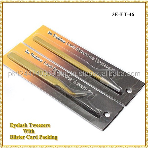 Swiss Quality Tweezers/Volume Eyelash Extension Tweezers/ Blister Tweezers