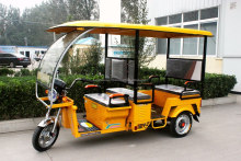 BSC Electric Tricycle / Electric Rickshaw with solar panel