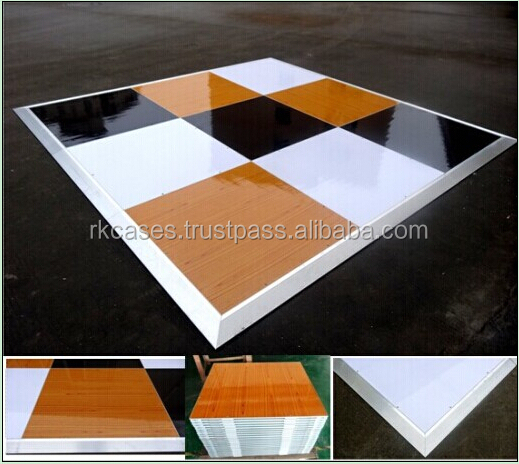 Factory price portable dance floor over pool