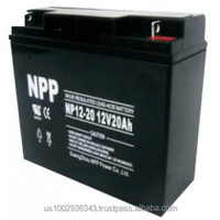 NPPower NP 12-20 12V 20Ah AGM Battery