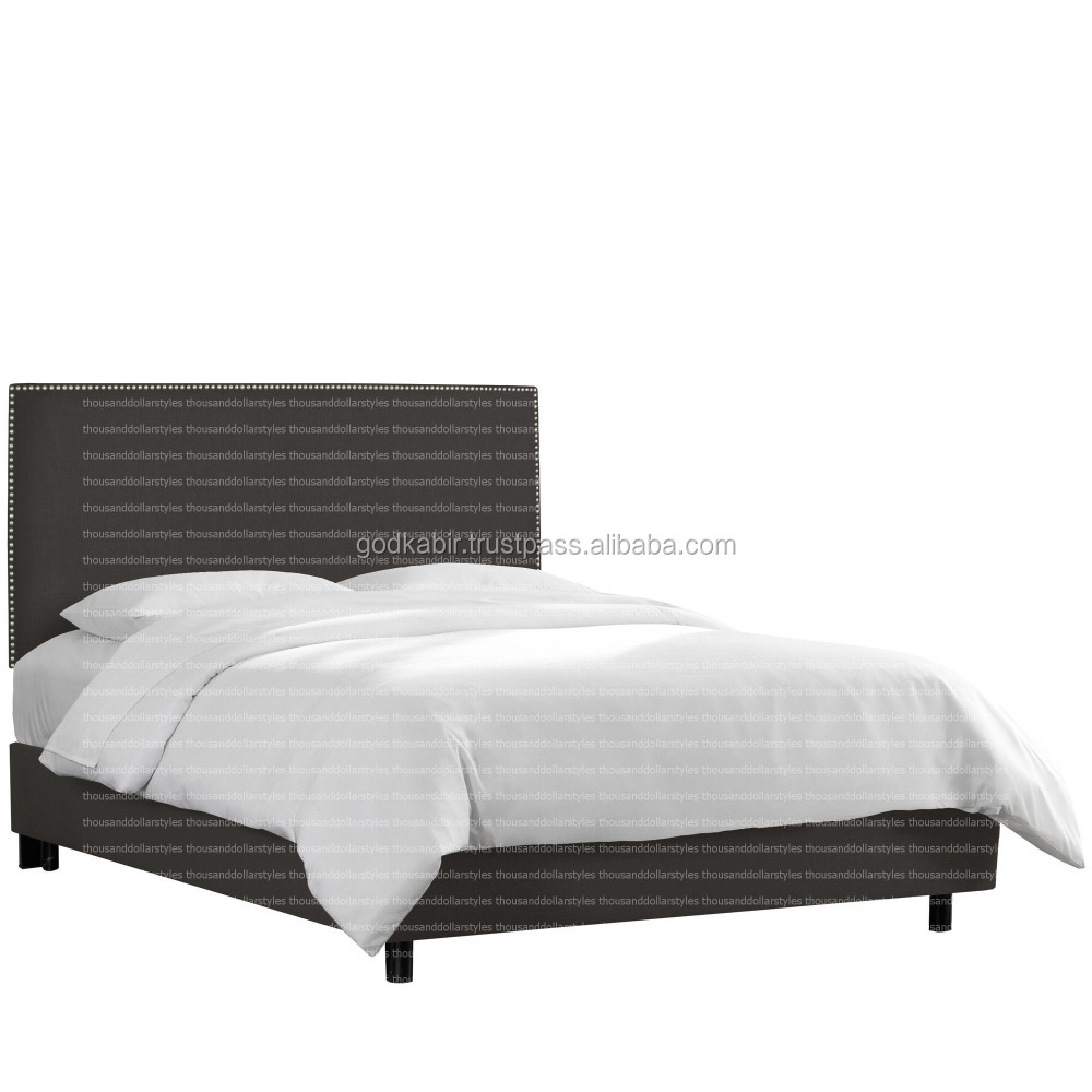 Special And high demand of new generation best Fashionable Bedroom Style Linen Upholstered Bed.
