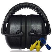 Custom with logo Anti-Noise Earmuffs Hearing Protection CE EN 352-1 Headset Ear Protector