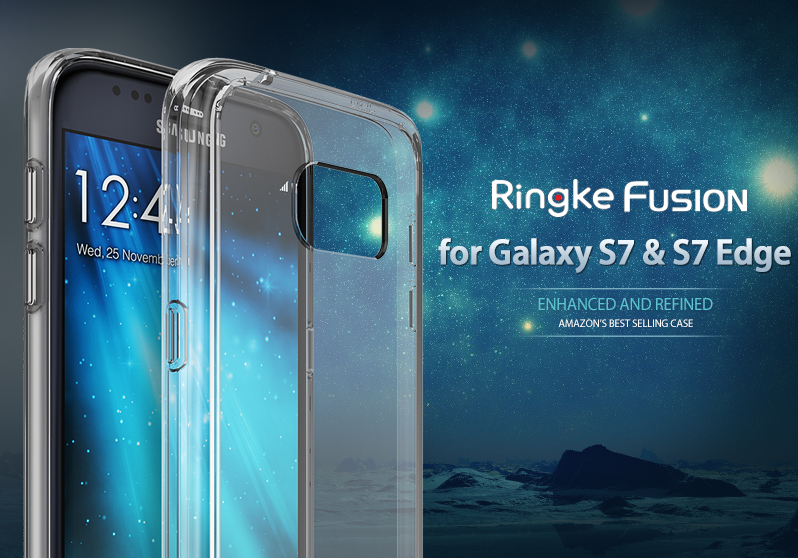 [Ringke] Ringke Fusion Smart Phone Case For Galaxy S7 & S7 Edge