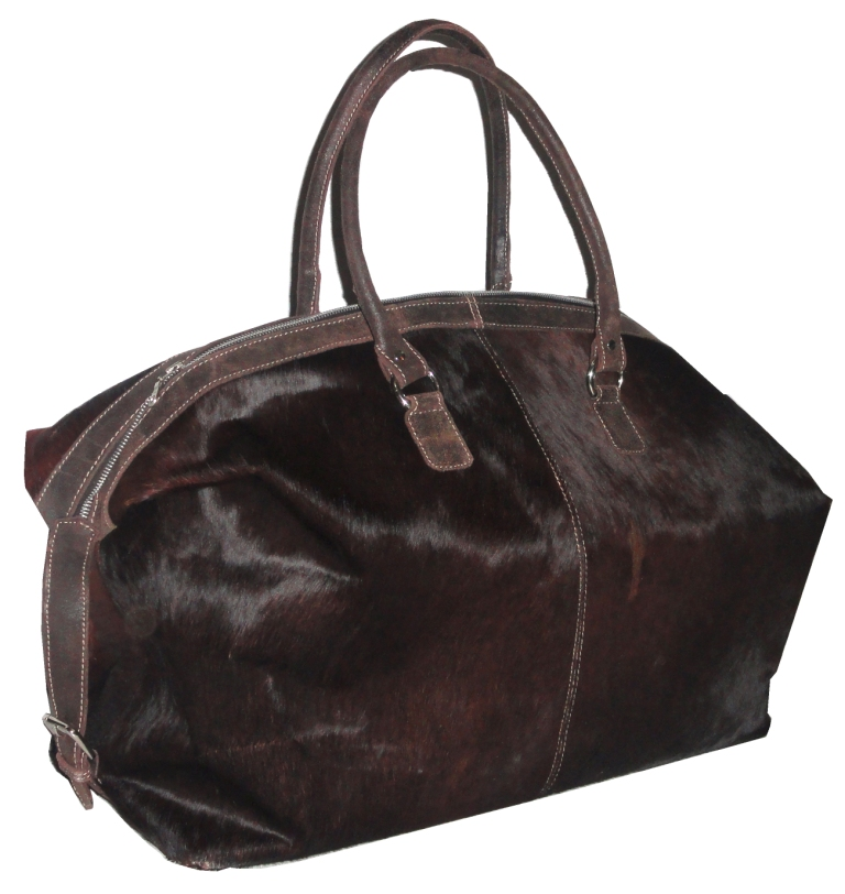 Superior Quality Premium Raw Material Leather Hair on Bag from Certified Company