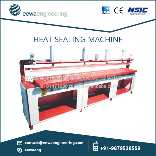 Most Accurate and Efficient Heat Sealing Machine for Making Sealing on High Temperature/ Thick Material