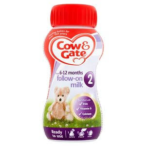 Cow & Gate 2 Follow-On Milk from Six Months 200ml