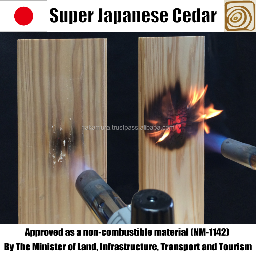 Japanese and High quality mobile home wall paneling fireproof timber for wall and ceiling , small lot order available