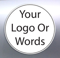 Custom Vinyl stickers, of your logo or picture/text full colour Australian made Circle, Square, Oval, Rectangle.