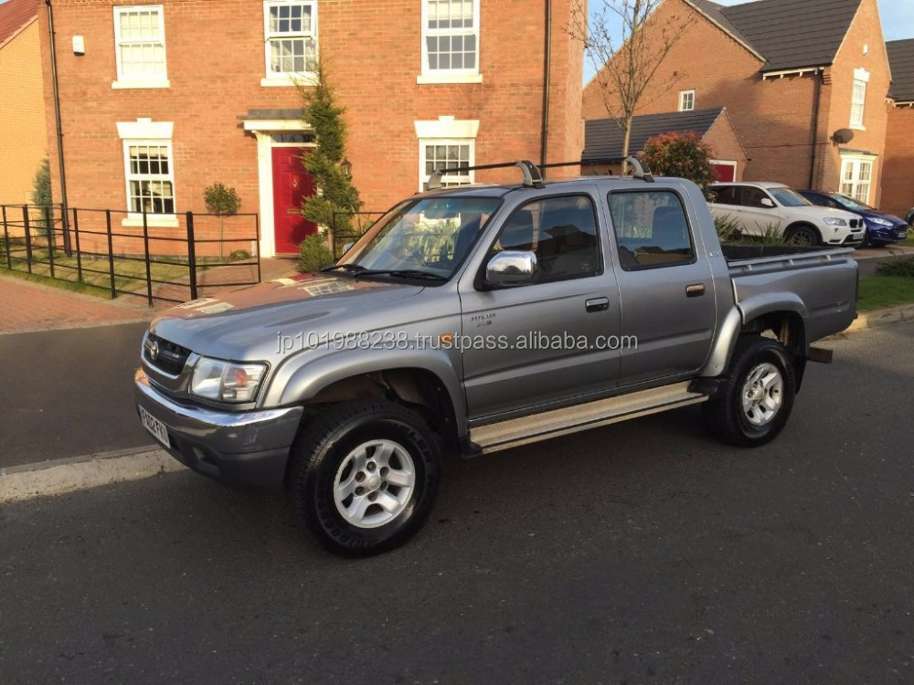 USED PICKUP - 2002 TOYOTA HILUX DOUBLE CAB (RHD 1801294)