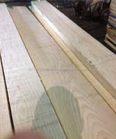White Ash European Square Ash Boards Edged Fresh Sawn