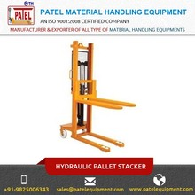 Hydraulic Stacker Offers Double Sealed High Pressure Polyurethane Packing