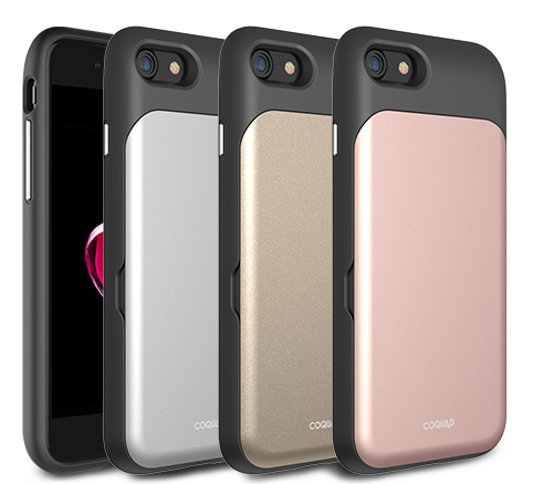 Coquad folder mirror case