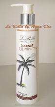 Whitening Body Lotion La Bella with Coconut Oil from PARADISE Made in Thailand