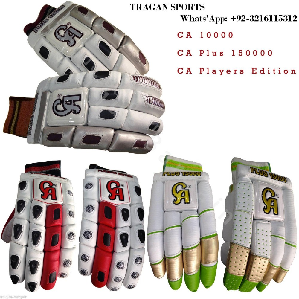 CA PLUS 10000, CA PLUS 15000,CA PLAYERS EDITION CRICKET BATTING GLOVES,BRAND NEW