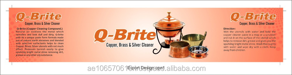 BRASS & COPPER CLEANER POLISH