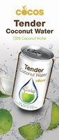 Cocos Organic 100% Tender Coconut Water