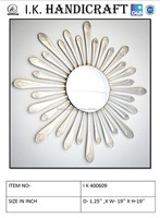 decorative metal mirror wall frame/round wall mirror manufacture and wholseller